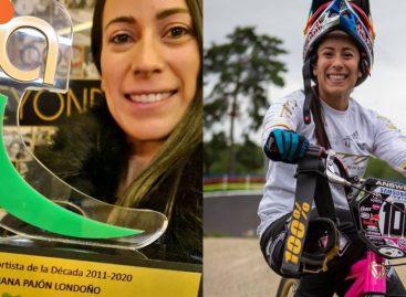 ¡La mejor entre 2011 y 2020! Mariana Pajón fue reconocida como la Deportista de la Década