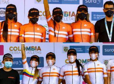 Ciclistas de El Carmen, La Unión y La Ceja cierran la temporada 2020 con el Tour Femenino en Casanare