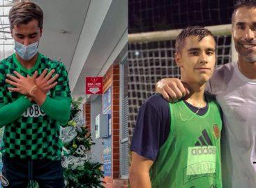 ¿Hijo de tigre…? A los 17 años, Tomás Ángel arranca su historia en Atlético Nacional