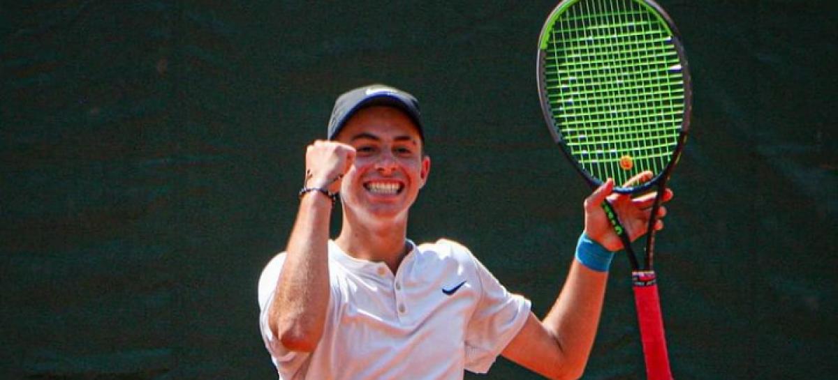 ¡A un paso del título! El guarneño Thomás Cardona avanzó a la final del ITF Junior Grado 5