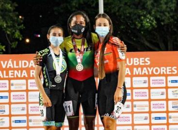 Laura Gómez, de El Carmen, ganó medalla de bronce en Válida Nacional Interclubes de Patinaje