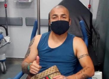 Vladimir Marín fue operado con éxito en Cartagena tras sufrir un accidente de tránsito en Paraguay