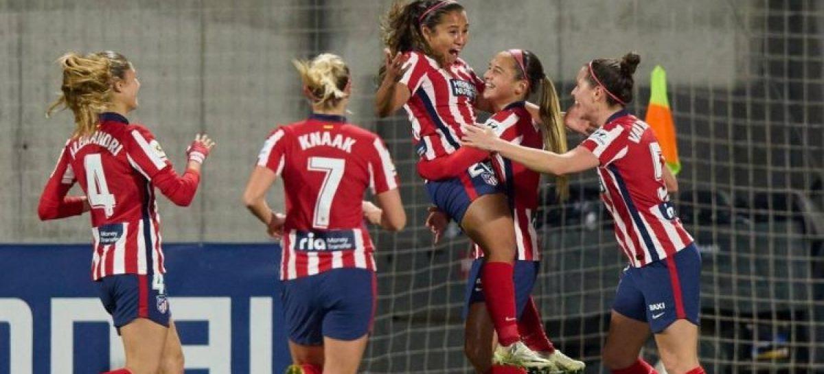 ¡Histórico! Leicy Santos es la primera colombiana que marca un gol en la Champions League