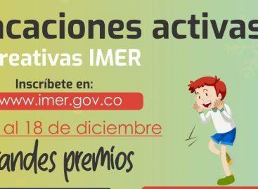 ¡A participar! Abiertas las inscripciones para las vacaciones activas y recreativas IMER