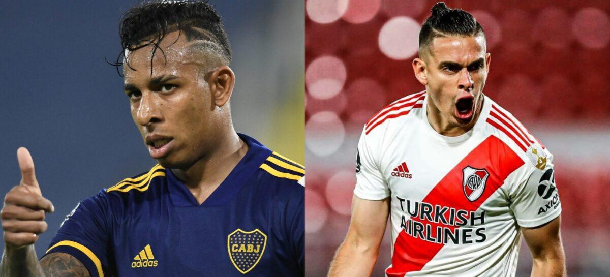 Boca y River se enfrentaron después de 438 días: El primer 'Superclásico' del año, con cinco colombianos, terminó en empate