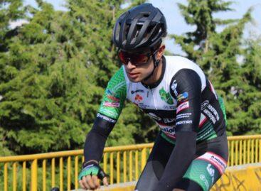 Alexander Gil, de Marinilla, se alista para correr la Vuelta al Táchira con el Team Orgullo Paisa