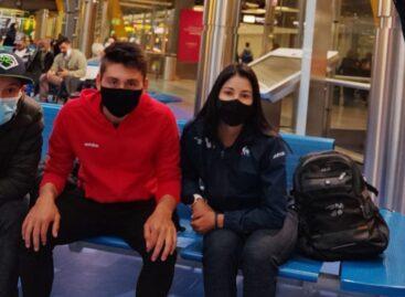 ¡Rumbo a España! La cejeña Paula Patiño viaja a Cabo de Gata para la concentración del Movistar Team