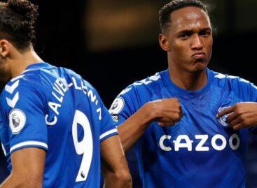 Yerry Mina es el jugador con más duelos individuales ganados en la Premier League