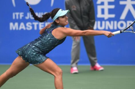 La colombiana María Camila Osorio debutó con victoria en la fase previa del Abierto de Australia