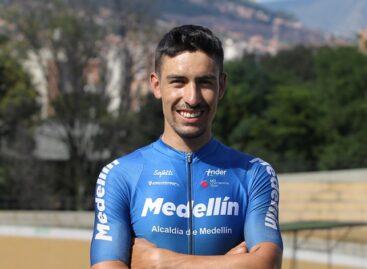 Bernardo Suaza, de El Retiro, fue anunciado como nuevo ciclista del Team Medellín