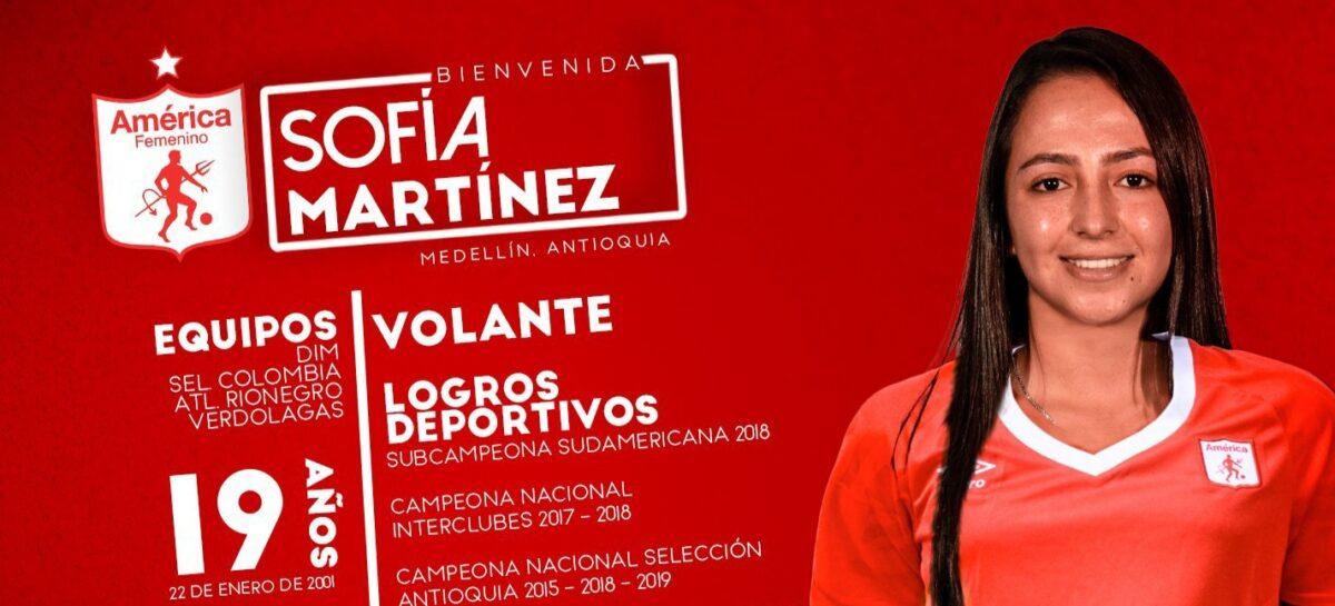 ¡Nuevo equipo! La rionegrera Sara Sofía Martínez jugará en América de Cali