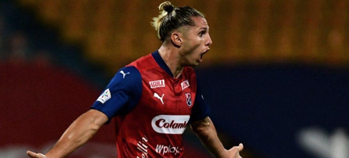 Con dos goles de Agustín Vuletich, el DIM logró su primera victoria en la Liga Betplay