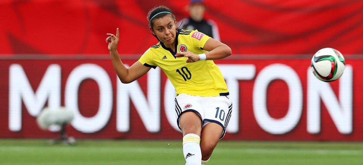 La colombiana Yoreli Rincón fue incluida en el once ideal femenino de la última década en Suramérica