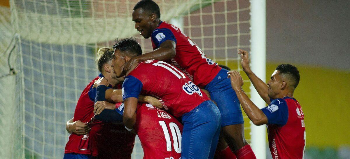 ¡Triunfo rojo! Un gol de Matías Mier fue suficiente para la victoria del DIM en Bucaramanga
