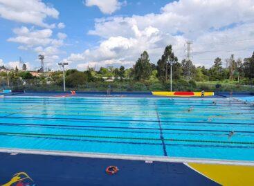 En Rionegro se realizó la reapertura de la piscina olímpica Los Comuneros