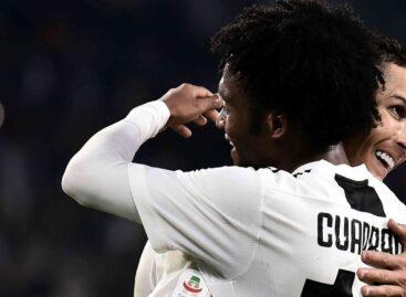 Cuadrado, figura; Cristiano, goleador: Juventus sacó ventaja en la semifinal de la Copa Italia