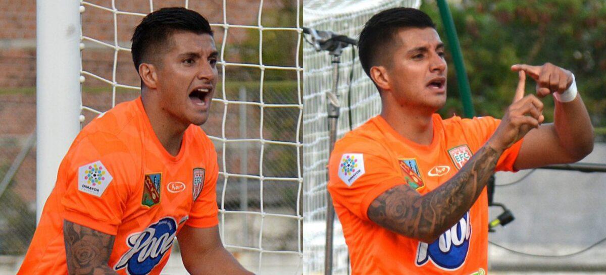Primer gol del unitense Yeison Guzmán con Envigado en la Liga Betplay 2021