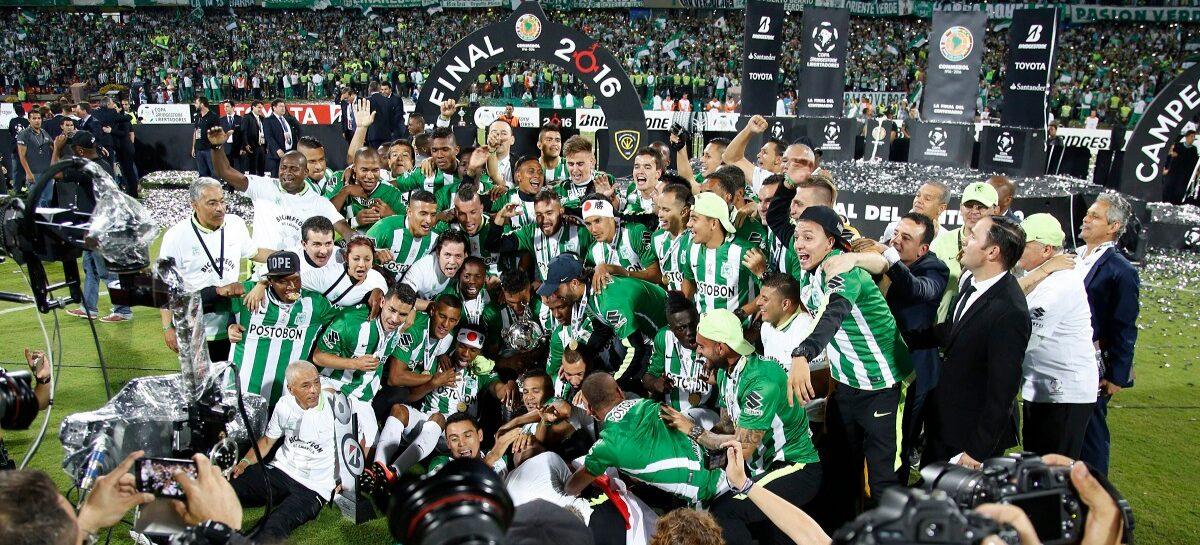Atlético Nacional, séptimo en el ranking de la Conmebol