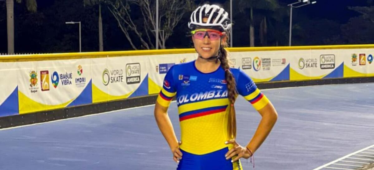 Laura Gómez, de El Carmen de Viboral, se consagró campeona panamericana de patinaje
