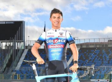 Nicolás Gómez, de El Carmen, ya se unió a los entrenamientos del Team Colpack Ballan en Italia