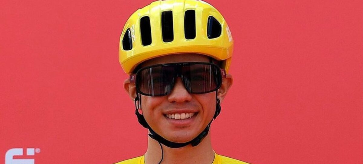 Sergio Andrés Higuita fue tercero en la etapa 3 del Tour de los Emiratos Árabes Unidos