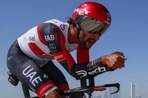 Fernando Gaviria finalizó en el Top 10 en la cuarta etapa del Tour de los Emiratos Árabes Unidos