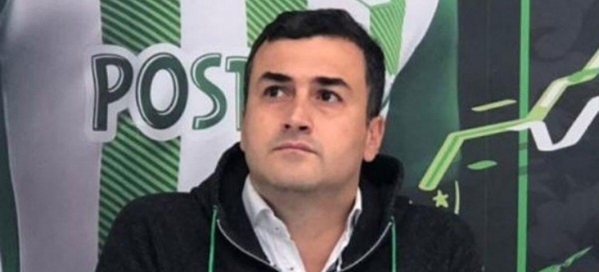 Juan David Pérez renunció a la presidencia de Atlético Nacional
