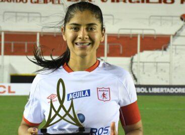 Catalina Usme fue la figura en la clasificación de América en la Copa Libertadores