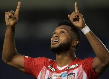 Miguel Ángel Borja ya es el tercer colombiano con más goles en la Copa Libertadores