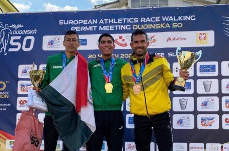 En Eslovaquia, tres atletas colombianos lograron cupo a los Juegos Olímpicos