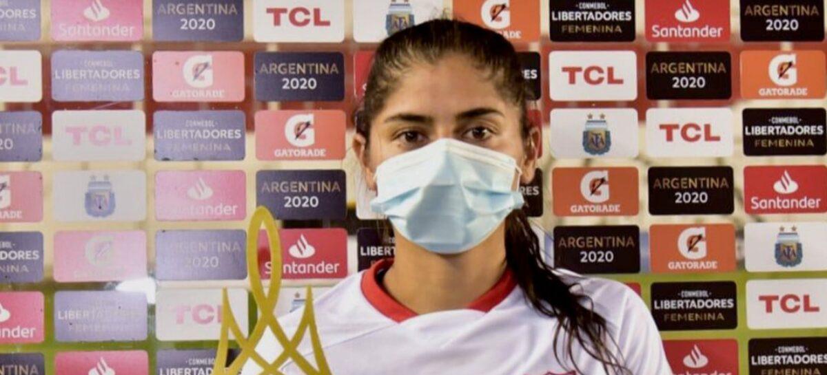 Con su gol en la final, Catalina Usme se convirtió en la goleadora histórica de la Copa Libertadores Femenina
