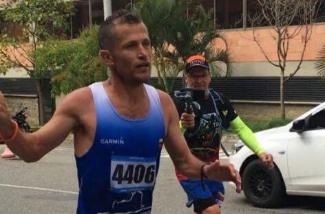 El cejeño Juan Carlos Cardona ganó la Maratón Valle de Aburrá 2021