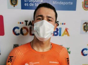Victor Ocampo, de El Carmen, ganó la Contrarreloj en la Vuelta de la Juventud