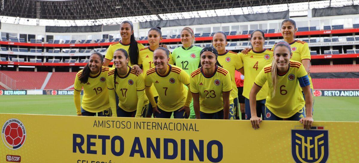 ¡Póker de Catalina Usme! La marinilla marcó cuatros goles en el triunfo de Colombia ante Ecuador