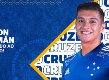 Yeison Guzmán, de La Unión, es nuevo jugador de Cruzeiro de Brasil