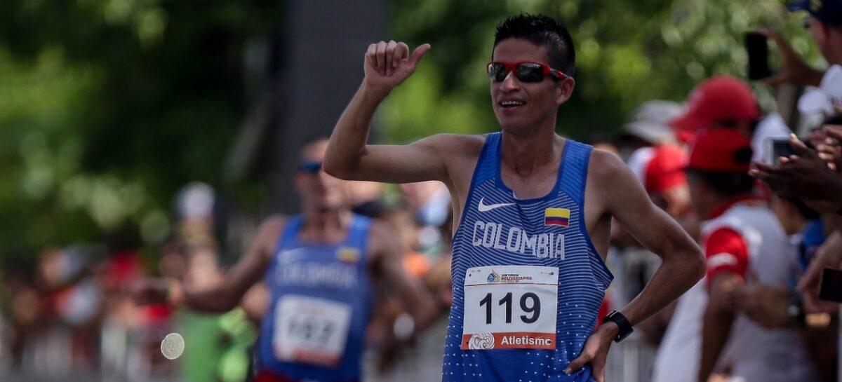 ¡Sello del Team Cardona! Jeisson Suárez, quien reside en La Ceja, clasificó a los Juegos Olímpicos