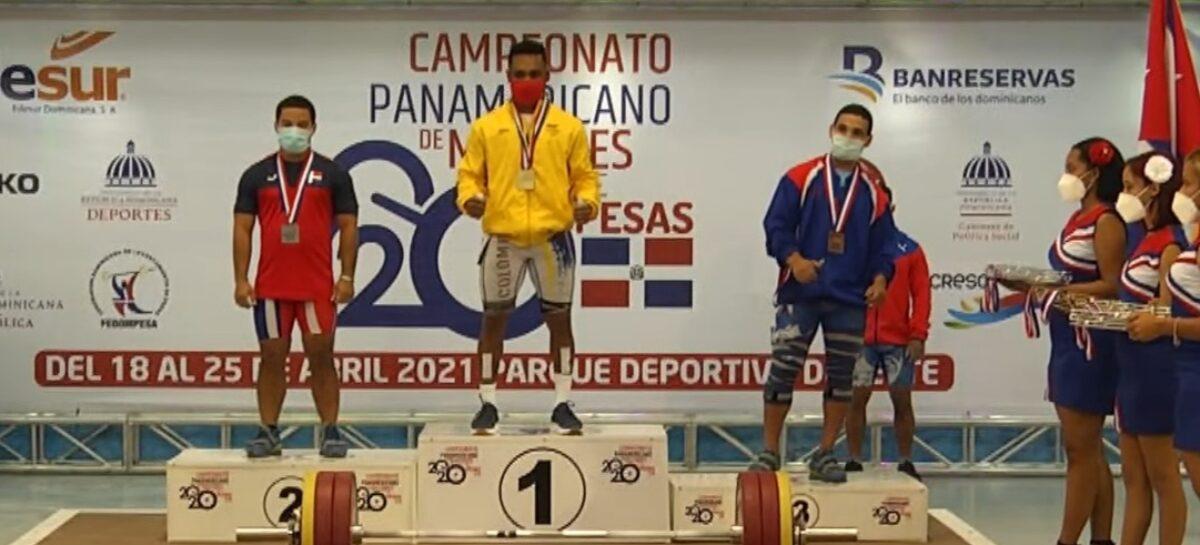 ¡Tricampeón! Francisco Mosquera ganó tres oros en el Panamericano de Pesas en República Dominicana