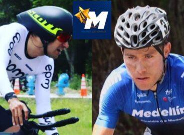 Juan Pablo Suárez y José Tito Hernández, líderes de la Vuelta a Colombia