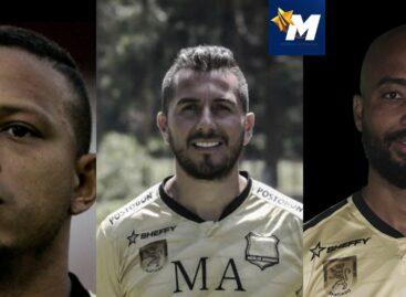 Anthony Uribe, John Pérez y Luis Payares, no continuarán en Águilas Doradas