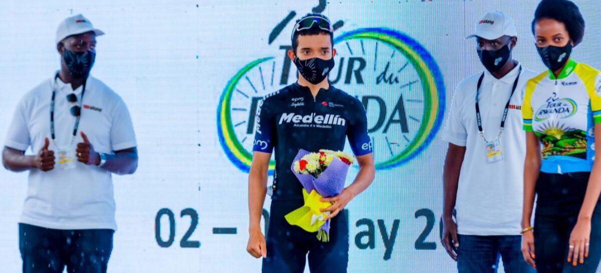 El Antioqueño Brayan Sánchez ganó la primera etapa del Tour de Ruanda