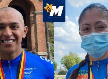 Ciclistas paralímpicos de Colombia ganaron medallas de oro, plata y bronce en Bélgica