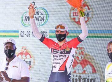 El colombiano Jhonatan Restrepo ganó la penúltima etapa del Tour de Ruanda