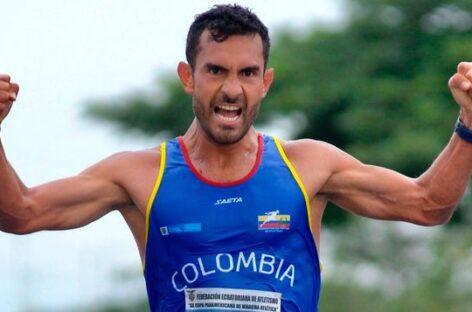 Éider Arévalo, campeón de la Copa Panamericana de Marcha