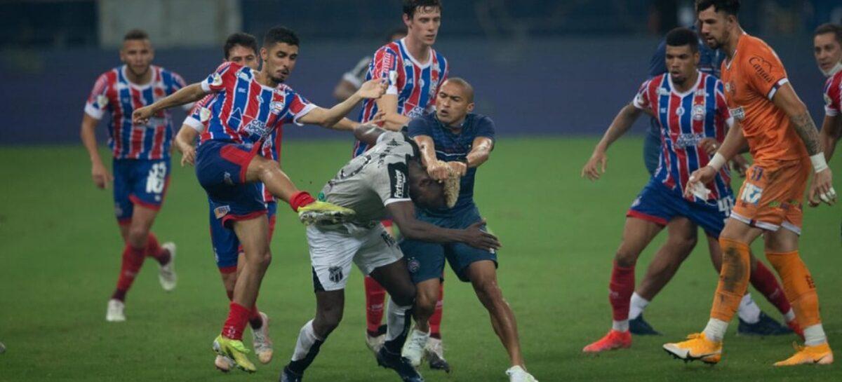El colombiano Stiven Mendoza fue protagonista en una batalla campal en Brasil