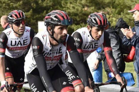 Fernando Gaviria fue sexto en la séptima etapa del Giro de Italia