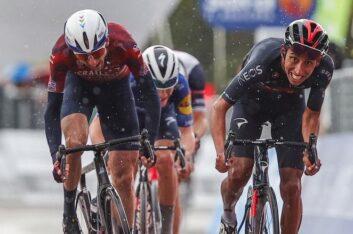 Egan Bernal ganó la novena etapa y es el nuevo líder del Giro de Italia