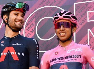 Egan Bernal le sacó más ventaja a sus rivales en el Giro de Italia