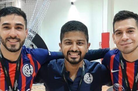 Dos colombianos se consagraron campeones de la Copa Libertadores de Futsal con San Lorenzo