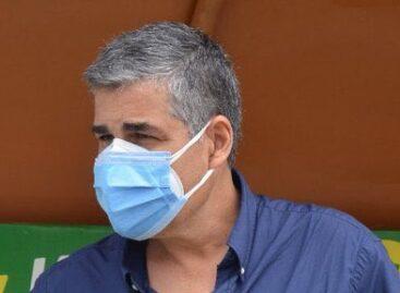 Luego de su última radioterapia, Santiago Escobar volvió a dirigir en Ecuador