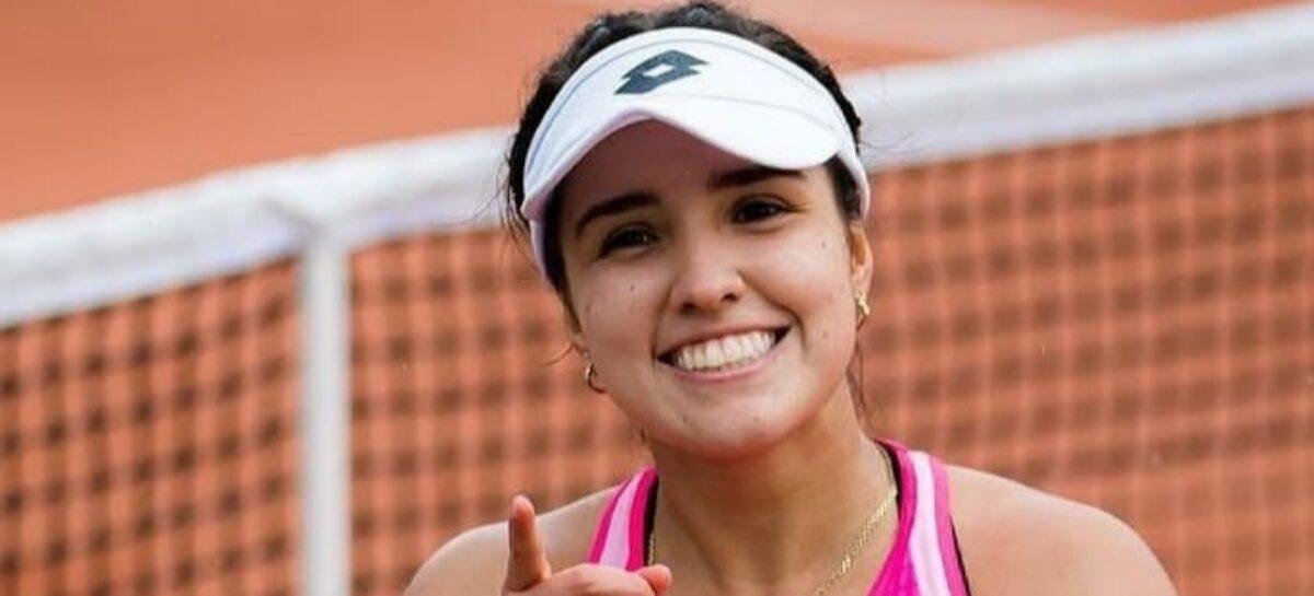 A sus 19 años, María Camila Osorio accedió al cuadro principal de Roland Garros
